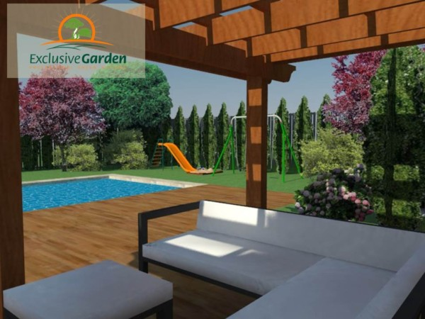 Amenajare gradina cu piscina